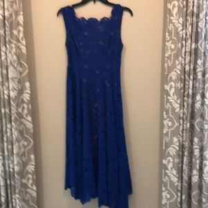 Anthrpologie Blue Lace Dress